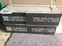 Gardenia Orchidea Versace Avorio wall tiles (Bianco), 2 x Boxes of 13 Tiles, BNIB