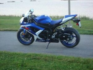 For Sale..2008 Suzuki GSX R600 Less Than 900kms Lady Driven