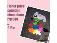 Fisher price counting chameleon