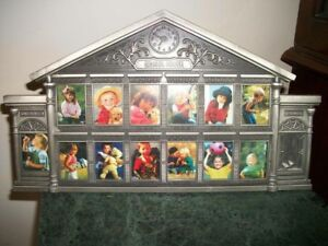 PEWTER SCHOOL PHOTO FRAME