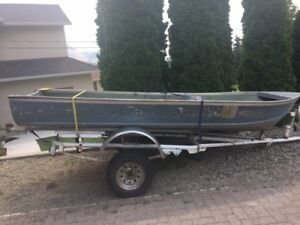 Boat, motors and trailer