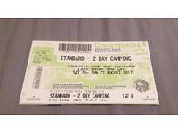1 x Creamfields 2-day Standard Camping ticket