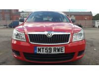 2009 (59) SKODA OCTAVIA S 1.8 TSi RED, Petrol, 61k miles, full MOT, FSH, 1 Owner, Alloys, Air Con