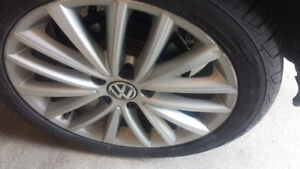 New tiers and rims for volkswagen