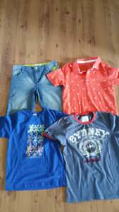 Boy size 12 yrs old summer clothes
