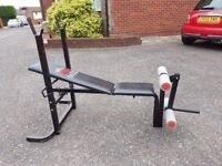 Weights bench, good quality, condition as new