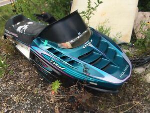 Indy trail parts sled