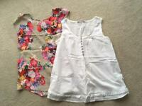 Two maternity tops- size 12