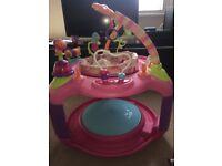 BrightStars baby bouncer toy