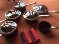 11 piece pots and pans set