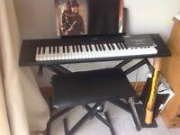 Yamaha piaggero keyboard