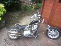 Mini motorbike 50cc, chopper style.£90 Starts and rides ok.07476995612 Herne bay