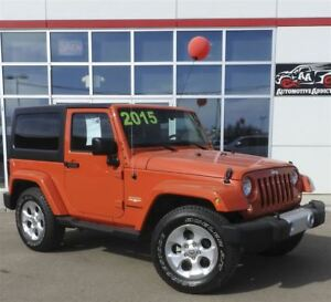 2015 Jeep Wrangler - ONE OWNER, ACCIDENT FREE!!!