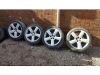"18"" RS6 wheels."
