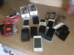Lot of iPhones and iPod