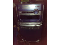 Karaoke System CD/TV with Graphics inc. CD's