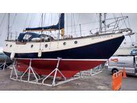 """34'7"""" lifting keel sailing boat"""