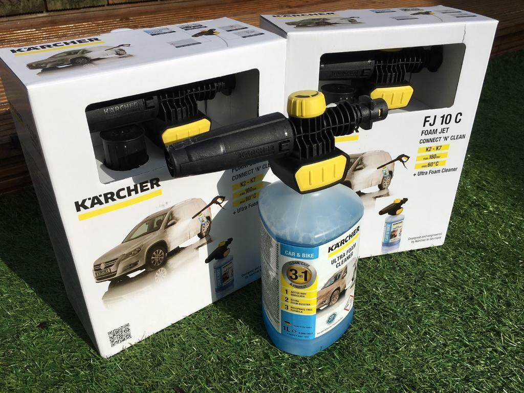 KARCHER FJ10C Snow Foam Lance and Cleaning Product