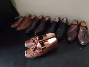 5 Pairs of Johnston&Murphy Dress Shoes (size 10)