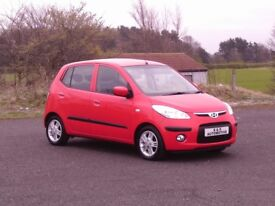 2009 HYUNDAI i10 1.2 COMFORT 1 OWNER FROM NEW 12 MONTHS M.O.T 6 MONTHS WARRANTY