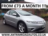 2007 HONDA CIVIC TYPE-S 2.2 I-CTDI ** FULL HISTORY ** FINANCE AVAILABLE ** ALL CARDS ACCEPTED