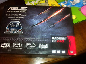 ASUS RADEON R7 Aftermarket Video Card NEW IN BOX