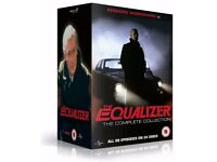 EQUALIZER BOX SET DVDS BRAND NEW WITH EDWARD WOODWARD