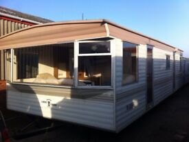 Carnaby Crown FREE UK DELIVERY 28x12 2 Bedrooms offsite static caravan over 150 statics for sale