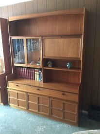 Wall unit with drinks cabinet £150 ono