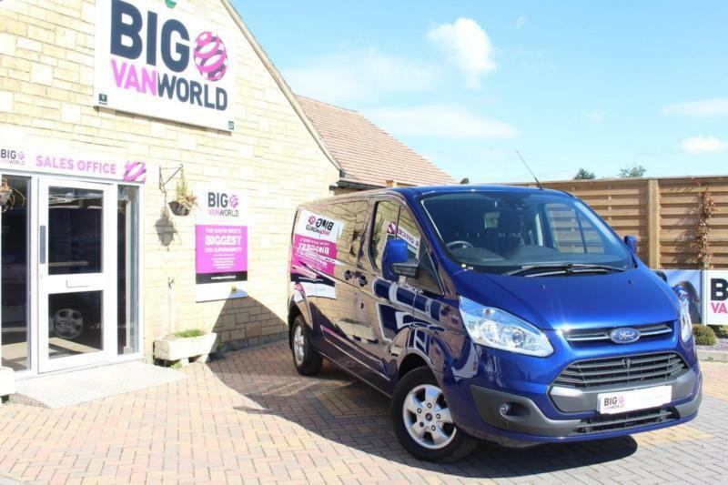 2015 FORD TRANSIT CUSTOM 290 TDCI 155 L2 H1 LIMITED DOUBLE CAB LWB LOW ROOF COMB