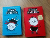 Timmy Failure Hardback books Unwanted Gift Suit 8-11 year old COLLECTION ONLY