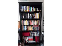 ikea hemnes bookcase in dark wood 90x197 cm