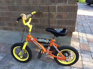 "Boy's 12"" BMX-style (training wheels incl.)"