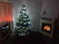 Christmas tree and decks
