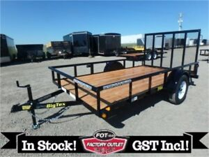 6.5 x 12 Single Axle Utility Trailer by Big Tex -*ALL IN PRICE*-