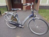 Electric Dutch Sparta bike nice E-bike pedelec ebike bicycle NEEDS REPAIR!!!