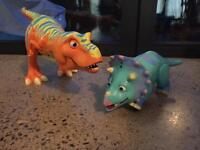 Dinosaur Train Boris and Tank