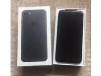 = With Receipt >> AS NEW Iphone 7 128gb Vodafone - Black (Matt) (Apple Warranty Till June 2018)