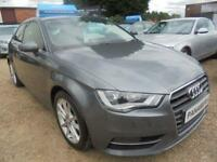 2014 14 AUDI A3 2.0 TDI SPORT 3DR 150 BHP DIESEL FINANCE WITH NO DEPOSIT AND NOT