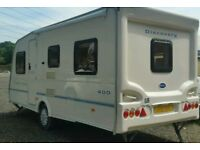 2004 bailey discovery 5 berth caravan comes with extras ready to go also got a awnings