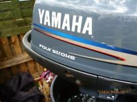 YAMAHA 4 HP FOUR STROKE OUTBOARD MOTOR