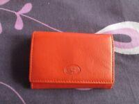 Lloyd Baker Rare Orange Wallet
