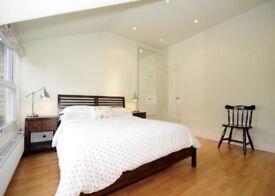 Spacious 2 double bedroom split level flat, with plenty of storage