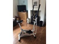 Roger Black Two in One Cross Trainer/ excercise bike