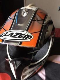 Motorbike helmet size L