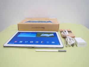 """Samsung Galaxy Note 10.1"""" 2014 Edition 32G Android Tablet White"""
