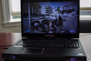 ALIENWARE M17X R4 GAMING LAPTOP FOR SALE