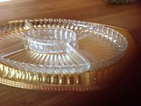 1960 hors d'oevres dish