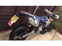 Rieju mrt pro 125cc 14 plate !! Low mileage Yamaha wr125 engine