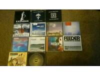 13 CD albums mostly feeder killers